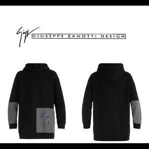 giuseppe zanotti • NEW • men's signature hoodie